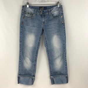 Angels Cuffed Flap Pocket Jeans